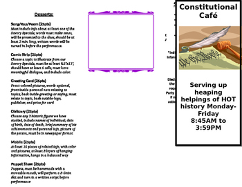 Constitution Menu Project