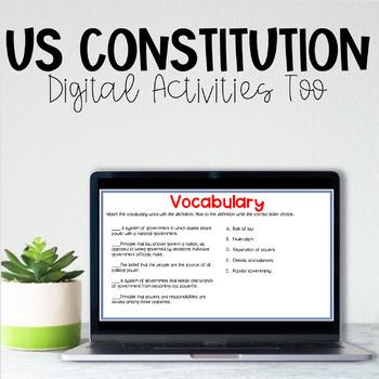 Constitution Mini-Lapbook