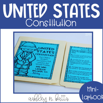 Constitution Day Mini-Lapbook