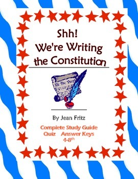 Shh we're writing the constitution vocabulary