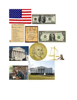 Constitution Picture Flip Activity Printable