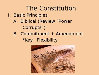 Constitution Power Point