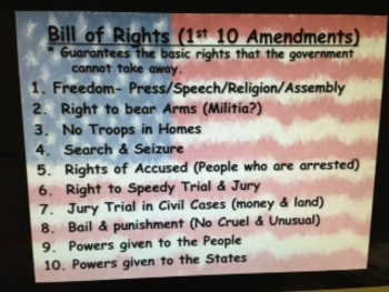 Constitution Power Point and Guided Notes (2 different Versions)