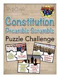 Constitution Preamble Puzzle Challenge