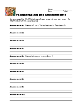Constitution Project - Amendment Illustrations