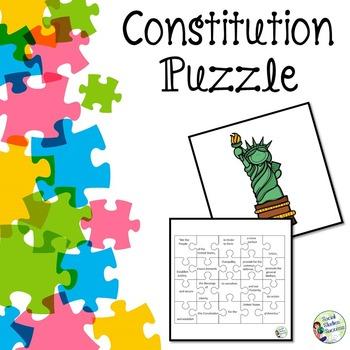 Constitution Puzzle