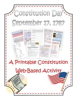 Constitution Quest Activity Lesson