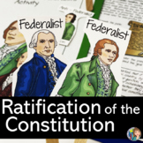 Ratifying the Constitution  Federalists vs. Anti-Federalists Debate Activity