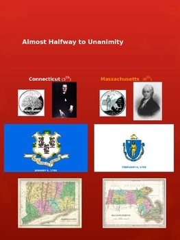 Constitution Ratification Order Mini-Poster Set