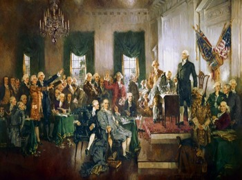"""Constitution - Recreating the """"Signing of the Constitution"""" Painting"""