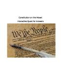 Constitution Review Activity - Scavenger Hunt