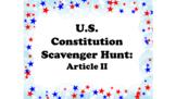 Constitution Scavenger Hunt (Article II)