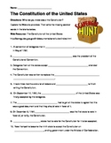 Constitution Scavenger Hunt - Constitution Day Activity