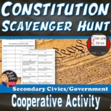 Constitution Scavenger Hunt | Print & Digital | DISTANCE LEARNING