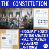 Constitution {Secondary Source Analysis, Reading Passage,