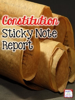 Constitution Sticky Note Report