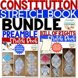 Constitution Stretch Book Bundle: Preamble & Bill of Rights