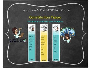 Constitution Taboo