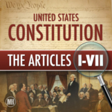 CONSTITUTION: The Articles Primary Source Analysis