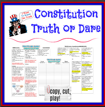Constitution Truth or Dare