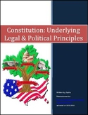 Constitution Underlying Legal and Political Principles Dif