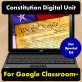 Constitution Unit Google Slides for Special Education   Di