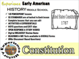 Constitution Unit: Lessons, Readings, Breakouts & Tests / Middle School