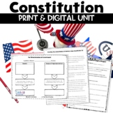 Constitution Unit about the United States Government