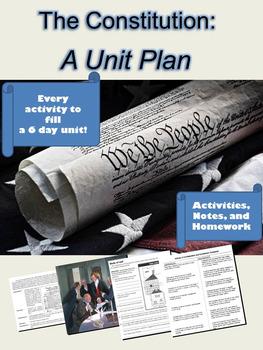 Constitution Unit Plan