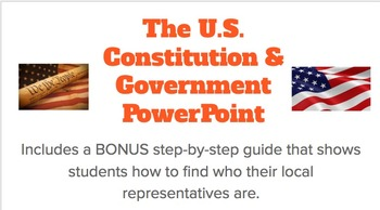 Constitution Unit PowerPoint