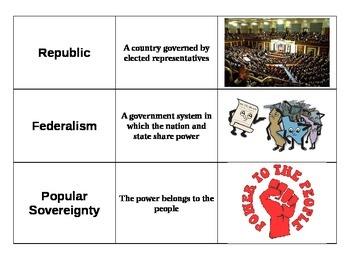 Constitution Vocabulary Game