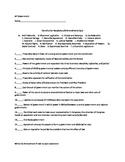 Constitution Vocabulary and Amendment Quiz