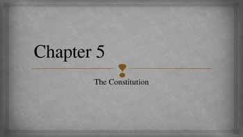 Constitution Vocabulary and Videos