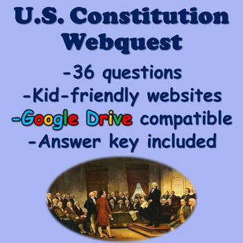 US Constitution Webquest