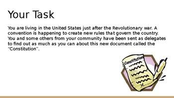 Constitution Webquest
