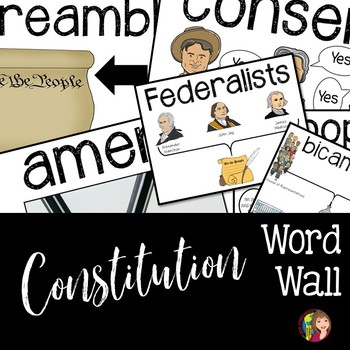 Constitution Word Wall Terms