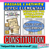 Constitution & Amendment Process: Reading Passage: Perfect for Constitution Day