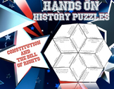Hands on History-Constitution and Bill of Rights  Puzzle