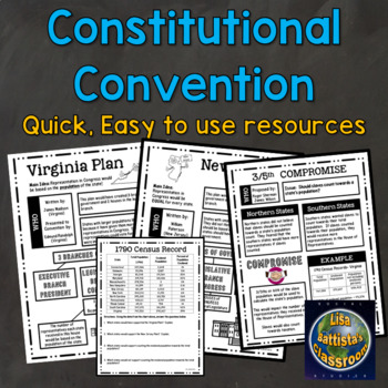 Constitution and Constitutional Convention