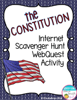 Constitution and Constitutional Convention of 1787 Internet WebQuest Activity