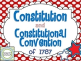 Constitution and Constitutional Convention of 1787 PowerPoint & Notes Bundle