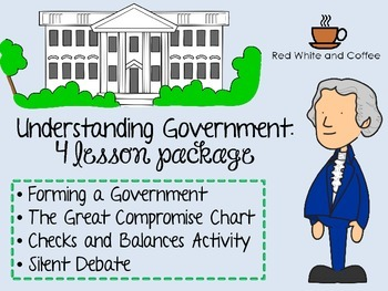Constitution and Government 4 Lesson Bundle