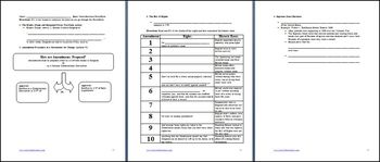 Constitution as a Living Document Differentiated Instruction Lesson Plan