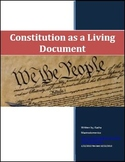 Constitution as a Living Document Differentiated Instructi