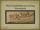 Constitution as a Living Document PowerPoint Minilesson