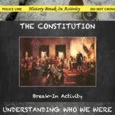 Constitution of the United States Break In Activity