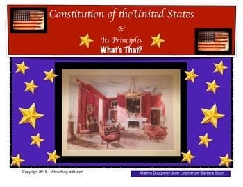 Constitution: Founding Principles- What's That?