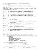 Constitution of the United States Unit Test