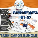 Amendments | 1-27 | Differentiated Task Cards | Notes | Bu
