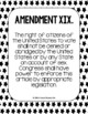 Constitutional Amendments 11-27 Primary Source POSTERS - B